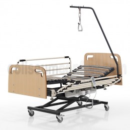 Adjustable bed with litfing...