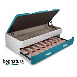 Upholstered Guestbed Ottoman Bed