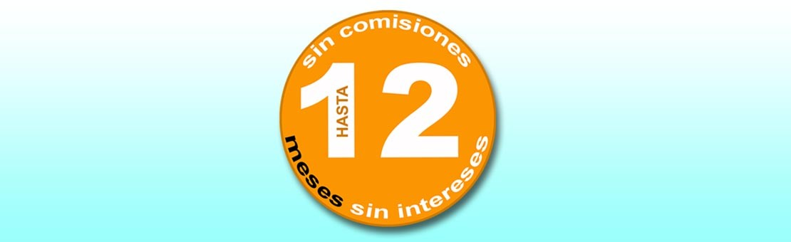 12 Meses sin intereses